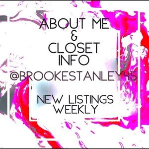 ⭐️CLOSET & ABOUT ME INFO ADDING NEW LISTING ⭐️